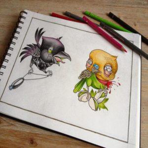 The Crow & Pistache